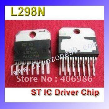 5 Pcs/Lot  L298N L298  Dual Full Bridge Dirver Power ST IC Driver  Chip Stepper Motor Chip  FZ0205 Free Shipping  Dropshipping