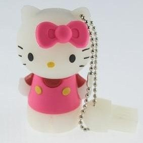 Genuine 16GB 32GB Lovely pink Hello Kitty USB 2.0 Memory Stick Flash Drive U012(China (Mainland))