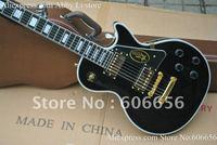 Top quality custom shop black 1950s signature ebony fingerboard electric guitar