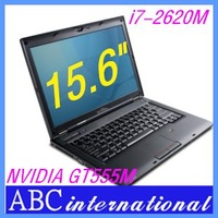 Nvidia GT555M 2GB Dedicated Video Card Core i7 2620M 2.7GHz 15.6 inch laptop & computer windows 7 OS Russian  French Keyboard