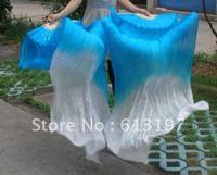 2color silk fans veil,belly dance customers, belly dance fans ,160fansveil