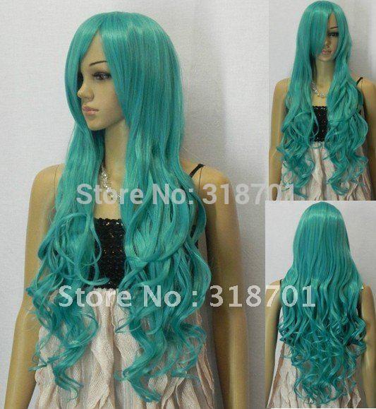 Long Blue Hair Cosplay 82