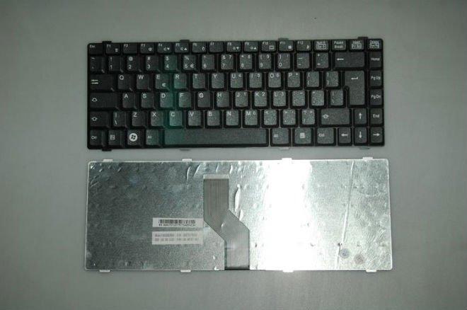 Laptop keyboards Notebook parts For Fujitsu AMILO LI1718 LI2727 LI1720 US Black(China (Mainland))
