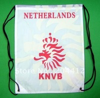 Netherlands Soccer Team Kitbag Backpack GYM Drawstring Training Bag White