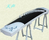 Chinese zither/Professional playing Chinese zither/Annatto white guzheng