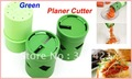 20pcs/lot  Multifunction Vegetable Fruit Cucumber Turning Cutter Slicer