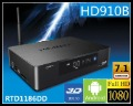 Free shipping Himedia HD910B 3D Full HD 1080p HDMI 1.4 Blu-Ray ISO Media Player Realtek 1186