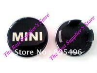 50pcs Free Shipping Top Quality Mini 3D Badge Wheel Center Cap Clubman Cooper S 54MM