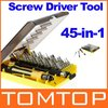 45-in-1 Professional Hardware Screw Driver Tool Kit JK-6089B Freeshipping Dropshipping Wholesale