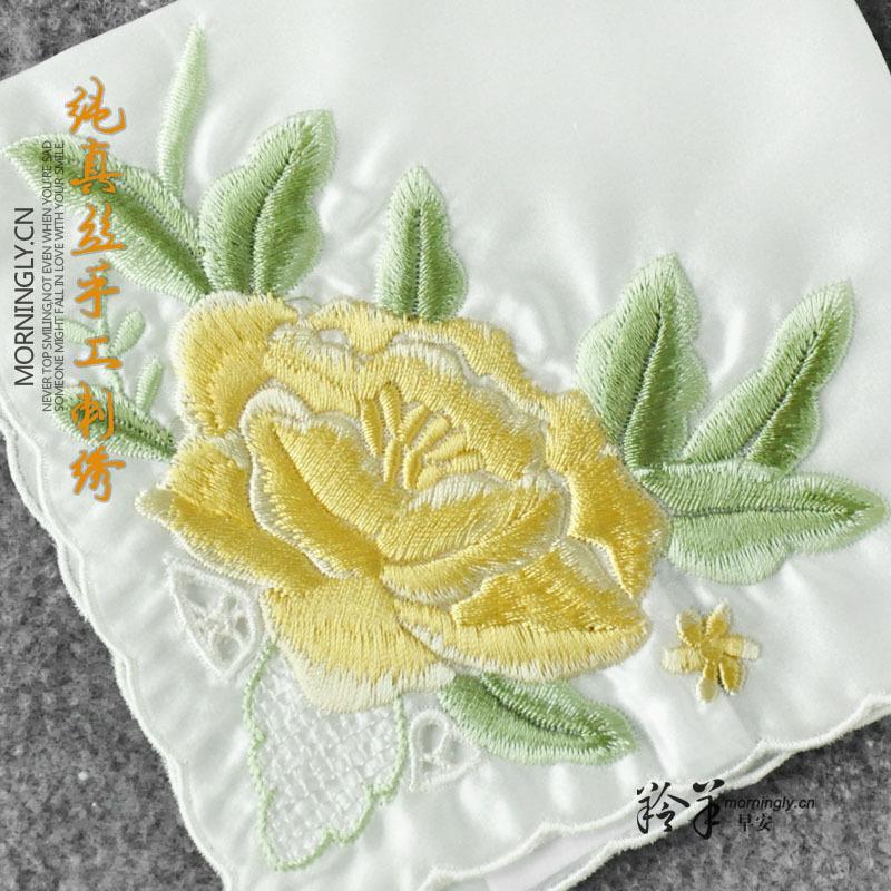 Носовые платки с вышивкой своими руками