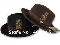 100% Wool felt Fedora, Wool Felt Hat, England Style Wool Hat/Fedora, Jazzy/Gentelman Wool hat