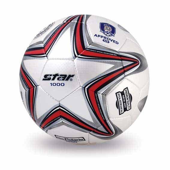 Free shipping! High quality Match use Star Soccer Ball/Football Size 5 SB375 New Polaris 1000 Gift: gas pin & net bag