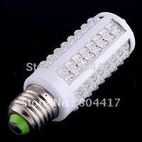 Free Shipping 5 Pieces/Lot New Corn LED Bulb E27 220V/110V 6W 108pcs LED Lamp White Spotlight 360 Degree LED Lighting/Tubes