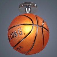 Free Shipping Modern Semi Flush Mount in BasketBall Feature