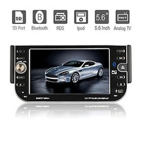 5.6 Inch 1Din Car DVD Player with IPOD Bluetooth TV RDS