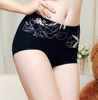 Free ship!15pc!Big size!Shaping the abdomen and hip / collagen Modal women high waist underwear