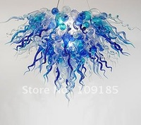 Best Art Decoration Blown Murano Chandelier Villa Lamp
