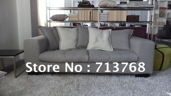 Modern furniture / living room fabric sofa / popular sofa / 3 seater MCNO9976
