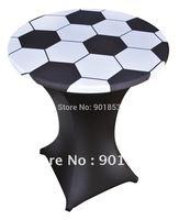 80cm round football  logo lycra topper