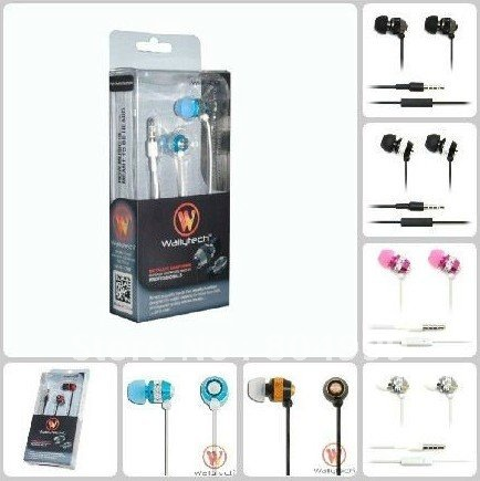 Free shipping Metal Earphone Handsfree Headset Headphone For iPhone Blackberry HTC earphone MP3 MP4(China (Mainland))