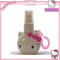Hot Selling Hello Kitty mini-pressure perfume bottles 50pcs/lots Free Shipping