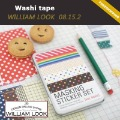 Min.order is $25 (mix order) colorful printing washi masking tape printing washi tape hot market lovely promotion gift JP08152