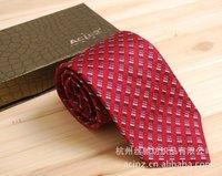 Dark red business dress 100% silk tie 2010F-1 married men