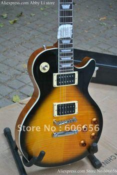 free shipping slash signature Vintage Sunburst Electric Guitar 2012 HOT SALE