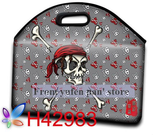 Free Shipping 2012 Cartoon Design make in China Laptop Bag with Handle 13'' 14''16'' 15''(China (Mainland))