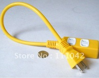 High quality power socket,,1 to 3, 110-220V short-term flapper, extension outlet, reliable free shipping