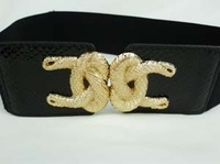 Yf92 fashion all-match gold rope belt cummerbund waist decoration