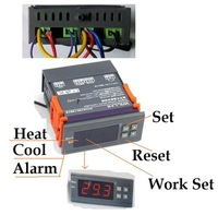 40pcs /lots 220V Digital LCD Thermostat Temperature Regulator Controller Aquarium Fish Tank