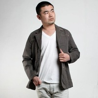 Men's clothing blazer slim spring and autumn outerwear