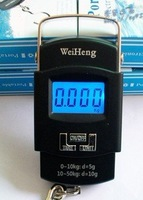 10pcs/lot DHL Free shipping High precision of portable electronic scale MAX:50KG
