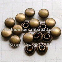 FREE SHIPPING,1000PCS/LOT,9mm or 9.5mm cap rivet .doom Rivet wholesale and retail