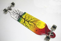 """Promotion 42""""DROP THROUGH LOWRIDER BOMBER Skate LONGBOARD   good quality  Canadian skate long board"""