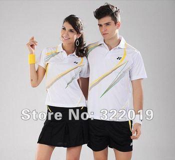 2012 Fashion badminton wear shirt,badminton short Tennis Sports jersey  (YY-LJ110)
