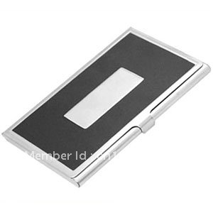 Wholesale 20 pcs/lot. Free Shipping! Aluminum Alloy Business Name Credit ID Card Holder Box Case. Promotion Gift.(China (Mainland))