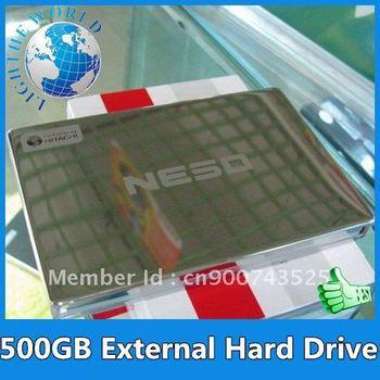 "2013 500GB External Hard Drive Wholesale NESO 500G size 2.5"" Hard Drive Disk External USB2.0 HDD"