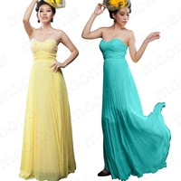 Вечернее платье Stock Ruched Leopard Long Strapless Dress Prom Ball Formal Gowns Ceremony Party lf093