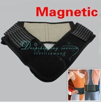 Free Shipping/Drop Shipping Wholesale 1x Magnetic Therapy Waist Brace Support Protection Belt Spontaneous Heating