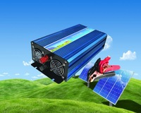 FREE SHIPPING DC to AC Power Inverter 1500W DC12V/24V-AC100V  Pure Sine Wave Inverter 50Hz/60Hz Switch
