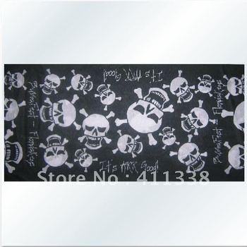 Devil skull multi-function seamless scarf, amazing riding scarf