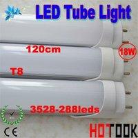 G13 T8 Tube Light 18W 3528smd 1200mm 120CM 3528 LED Tube Lamp 85V~265V warranty 2 years CE RoHS  x 10 PCS -- ship via express