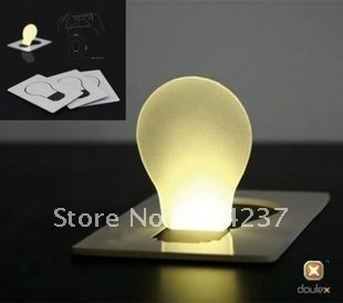 freeshipping! mini Card light LED night Light(China (Mainland))