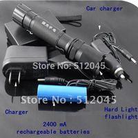 10set  Police high brightness LED Flashlight Hand Torch Promotion! Mini 3W handlight strong light nightlight lamp free shiping