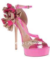 2012 newest hot sell lady high heel sandals  summer fashion women high heels