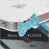 wholesale 1000pcs Lovely Cute Crown 3.5mm Anti Dust Plug Earphone Jack  Cap for iPhone HTC mobile phone DHL FEDEX free shipping