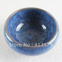 Promotional 5pcs/lot China Teacup, Pottery Teacup, Porcelain Tea Cups & Saucers classical ice crack glaze