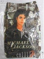 New Black  Michale Jakson MJ socks pouch case Mix order 20 pcs/lot  Free Shipping